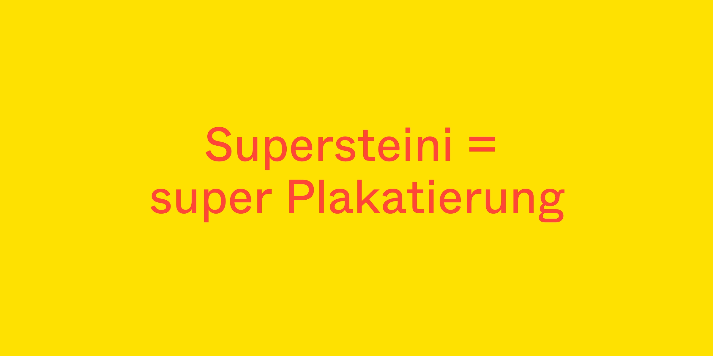 Thank You, Supersteini