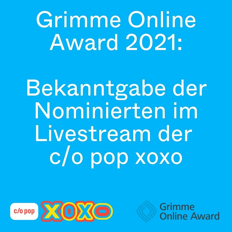 Quality on the Web: Grimme Online Award